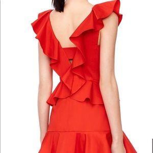 Rebecca Taylor Gorgeous Red Dress Sz 4